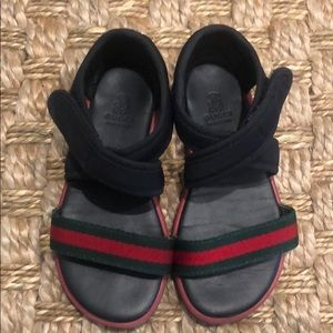 Gucci toddler Velcro sandals